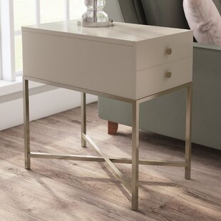 Top Allyson Chairside Table By Latitude Run