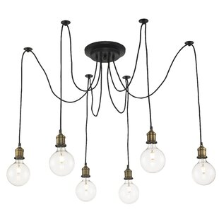Colton 6-Light Cascade Pendant by Trent Austin Design