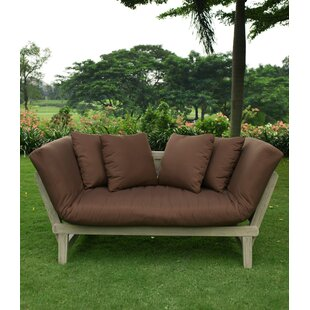 Englewood Patio Daybed with Cushions by Beachcrest Home