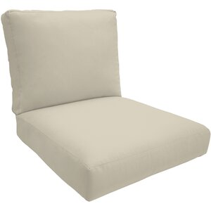 Knife Edge Outdoor Lounge Chair Cushion�