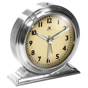 Exceptional Metal Alarm Desktop Clock