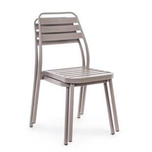 Alan-John Stacking Garden Chair By 17 Stories