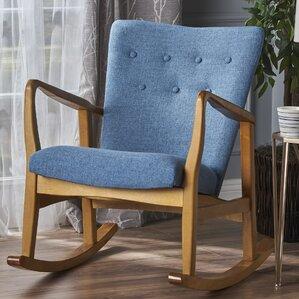 Saulter Fabric Rocking Chair
