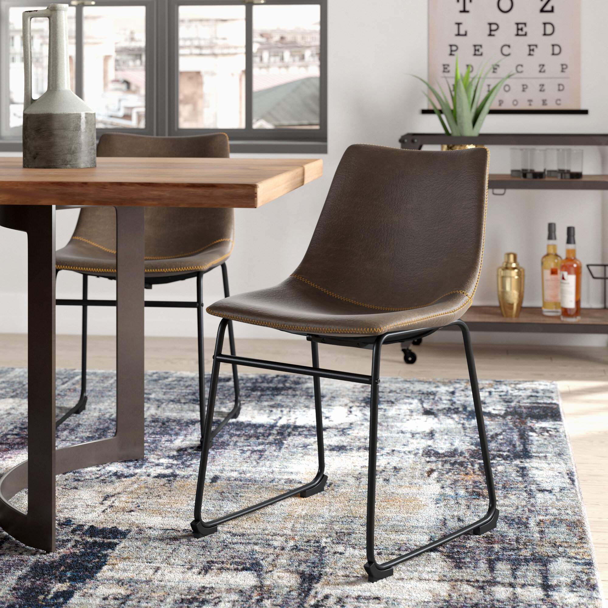 Trent austin design bamey upholstered chair reviews wayfair