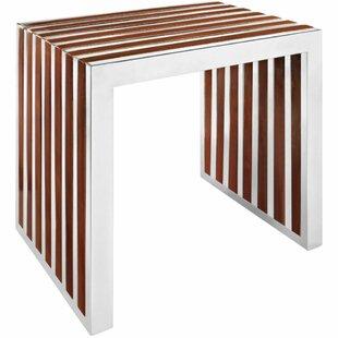 Imkamp Wood Bench by Wrought Studio