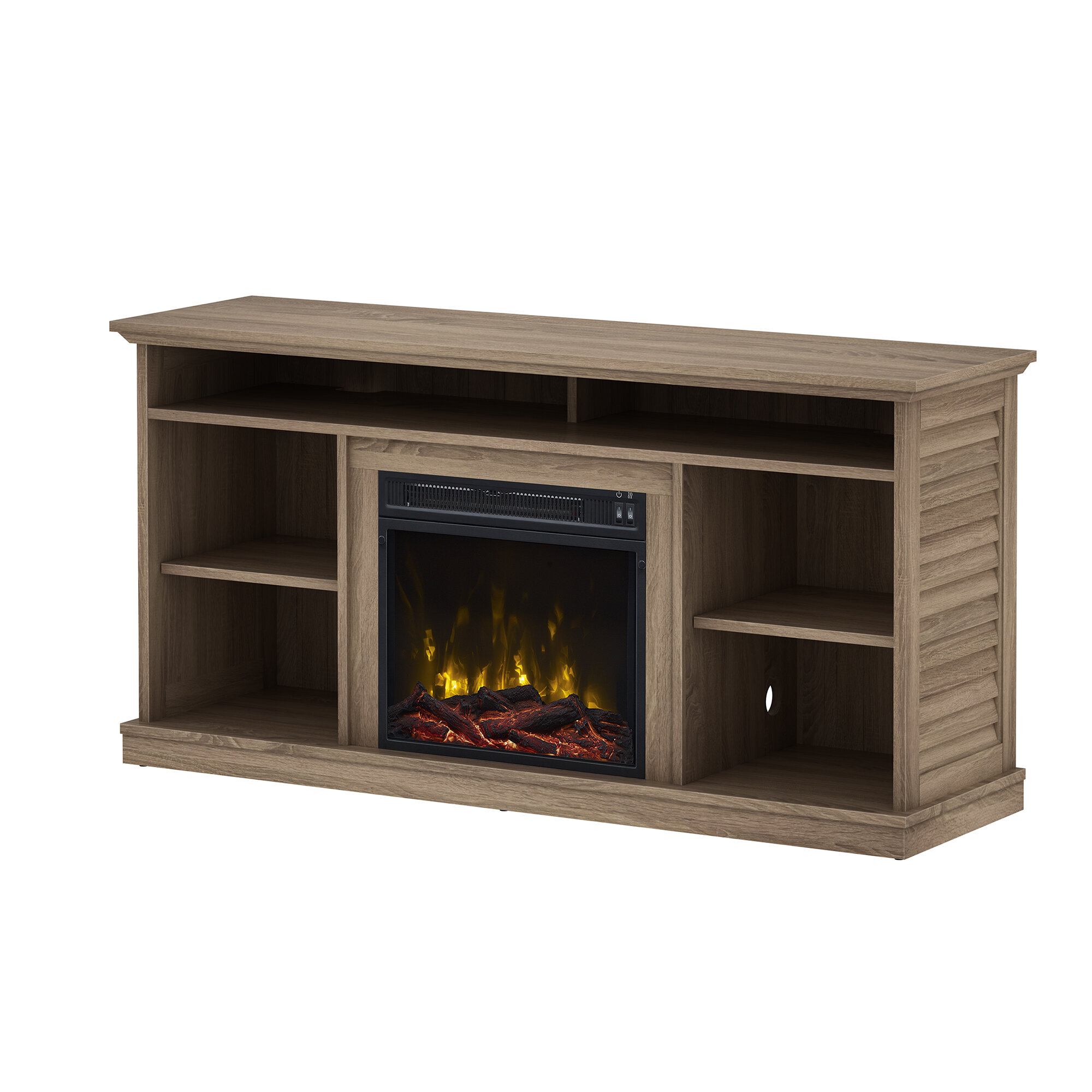 Alcott Hill Phelps 545 Tv Stand With Optional Fireplace &