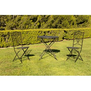Roa 3 Piece Bistro Set by August Grove