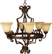 Fleur De Lis Living Kellie 6-Light Shaded Chandelier