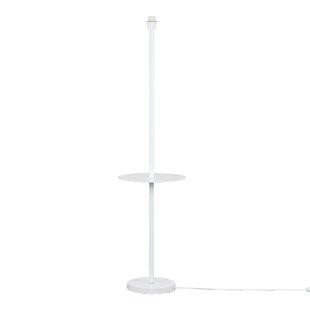 Floor lamp base only wayfair steward single stem 1092cm floor lamp base mozeypictures Gallery