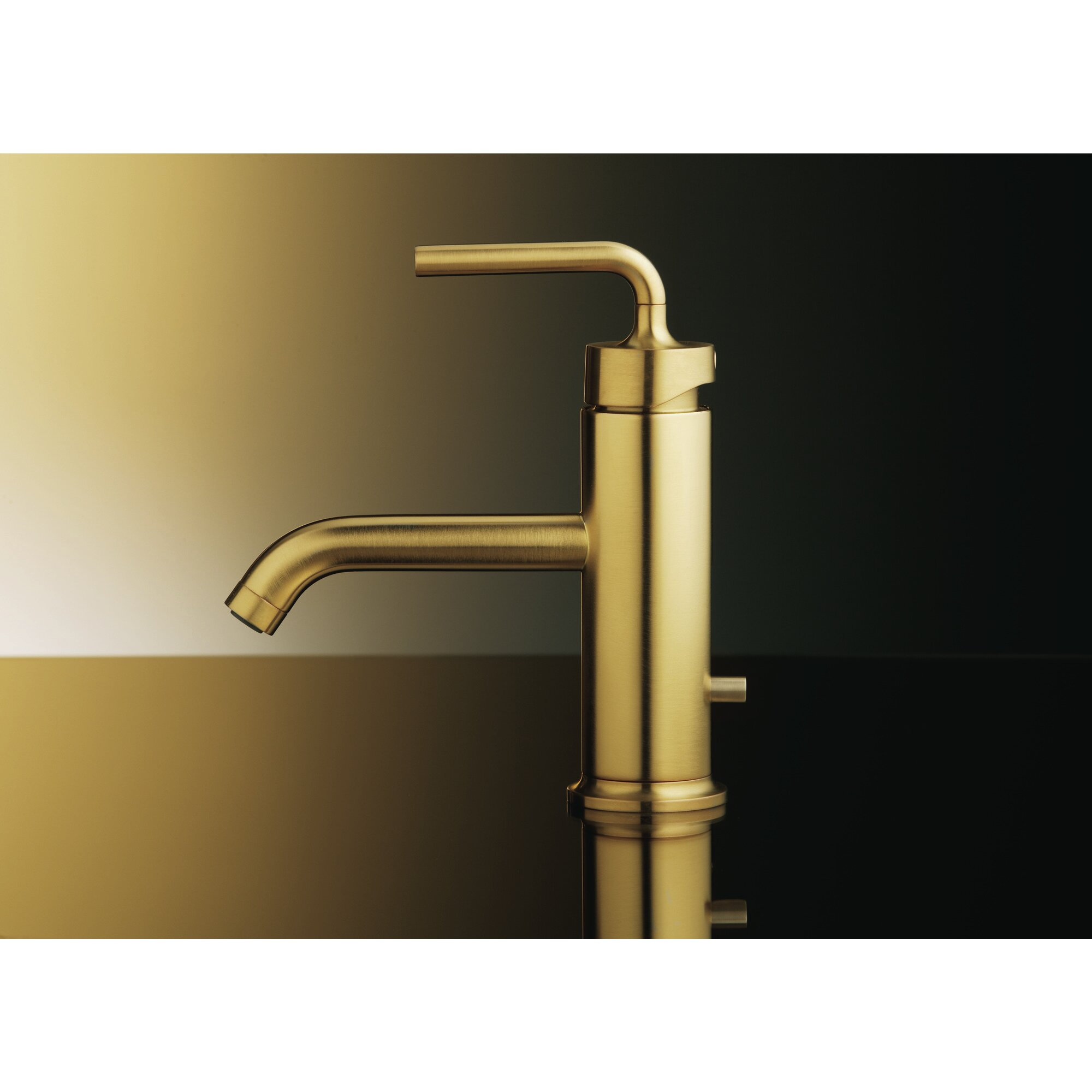 Image of: Purist Single Hole Bathroom Faucet With Drain Assembly Reviews Joss Main