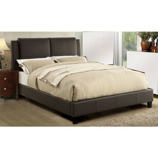 Winston Porter Kist Wooden Upholstered Panel Bed