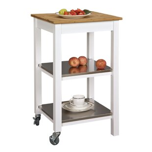 Ridenhour Ultimate Kitchen Bar Cart by Breakwater Bay