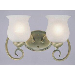 McMillian 2 Light Vanity Light by Charlton Home