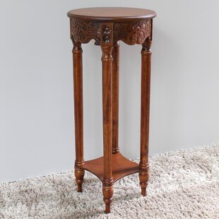 Windsor Hand Carved 2-Tier End Table