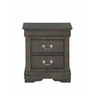 Sophia 2 Drawer Nightstand