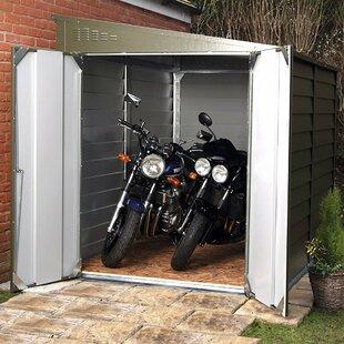 6 Ft. 3 In. W X 9 Ft. 1 In. D Metal Lean-To Garage Shed By Rowlinson