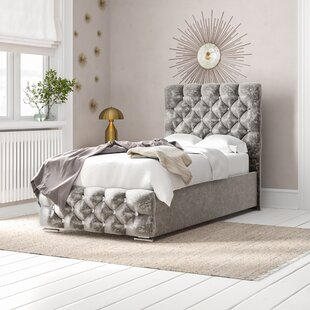 Review Terrence Upholstered Bed Frame