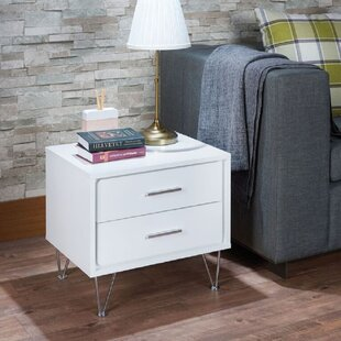 Read Reviews Yisroel 2 Drawer Nightstand by Ivy Bronx