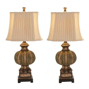Urban Chateau Bordeaux 34 Table Lamp (Set of 2)