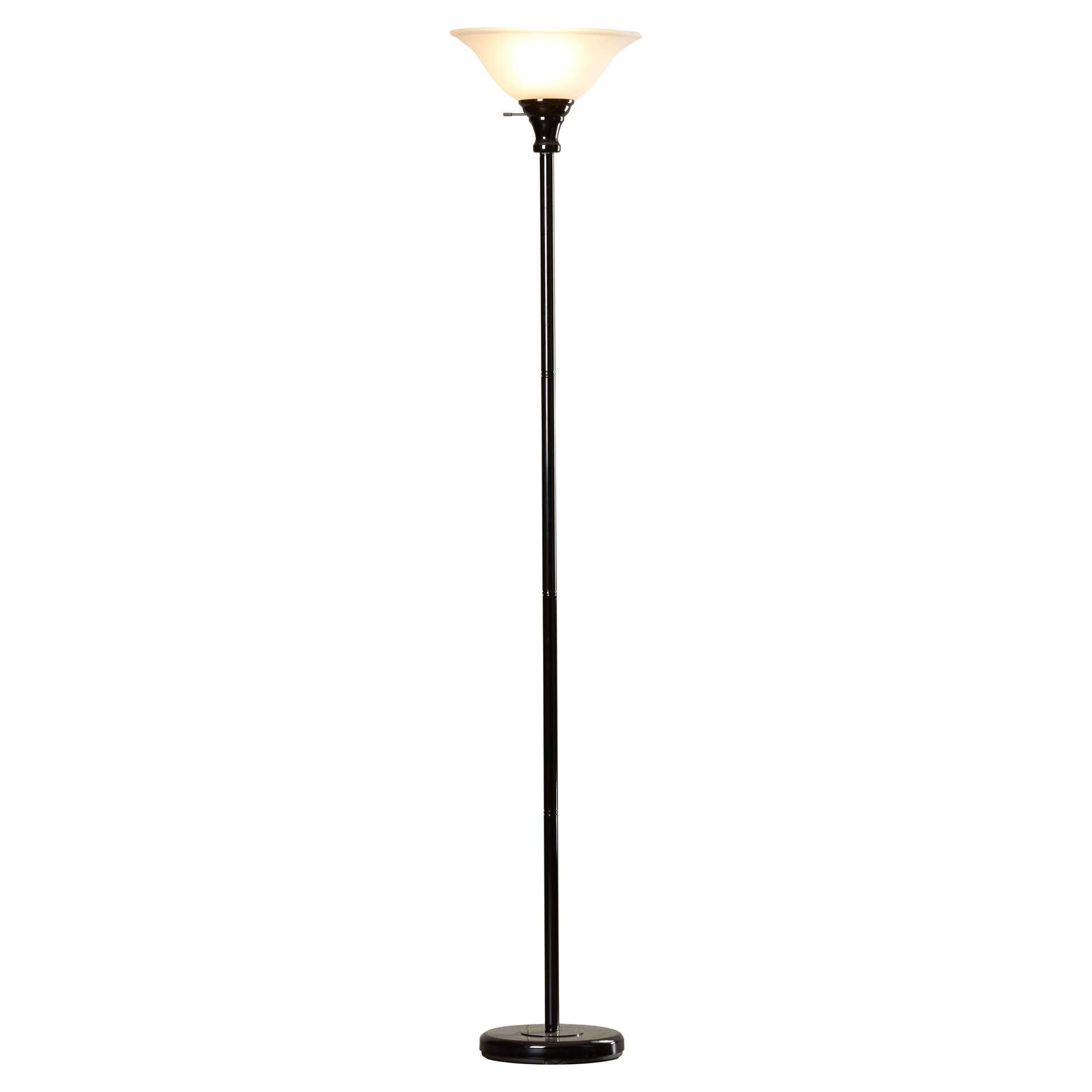 lamp mid nessen century von lamps pin floor white torchiere by walter pair of