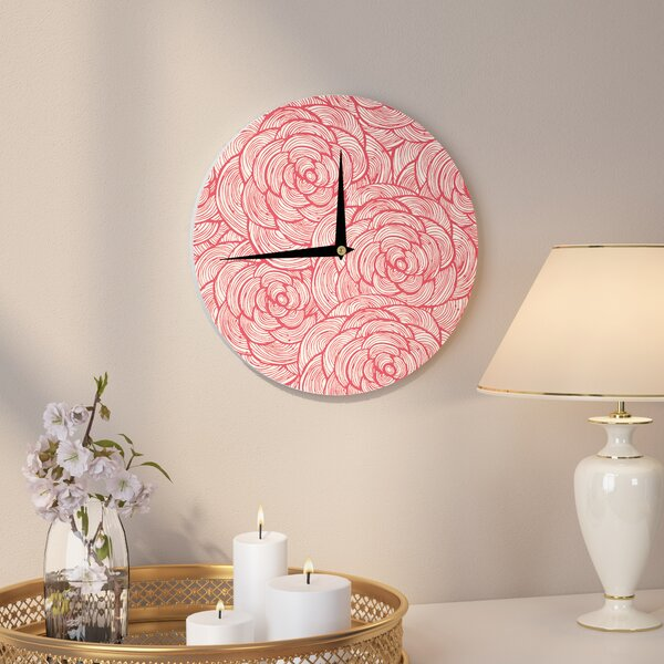 12 Inch Wall Clock   Wayfair
