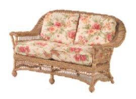 Woodard Cottage Loveseat with Cushions
