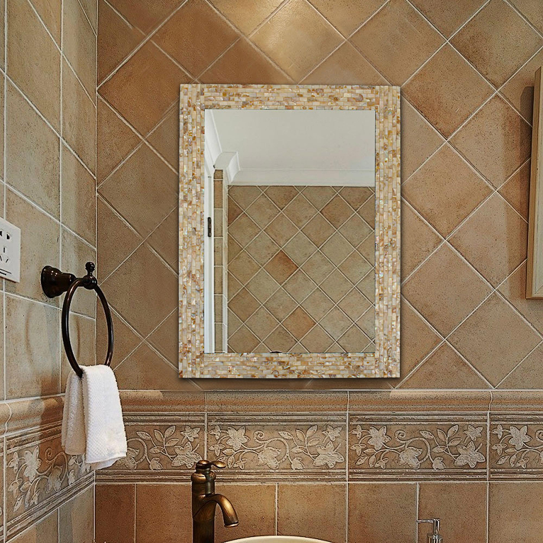 Beachcrest Home Stock Island Modern Contemporary Bathroom Mirror Reviews Wayfair