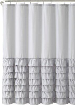 Ruffle Shower Curtain