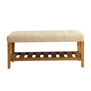 Arlesey Simple Upholstered Bench