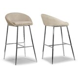 Uzair 29.5 Bar Stool (Set of 2) by Orren Ellis