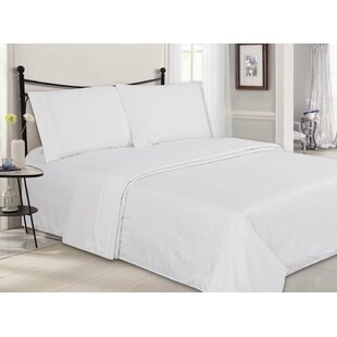 Ultra-Luxe Double-Brushed Embossed Microfiber Sheet Set