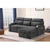 Abdul-Rahman 94 Reversible Sleeper Sofa & Chaise by Latitude Run®