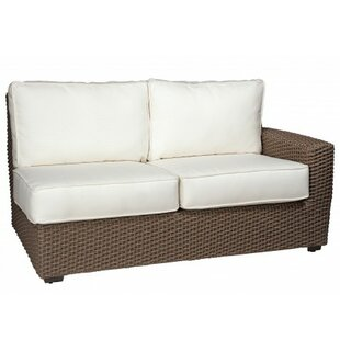 Augusta Right Arm Facing Loveseat Sectional with Cushions