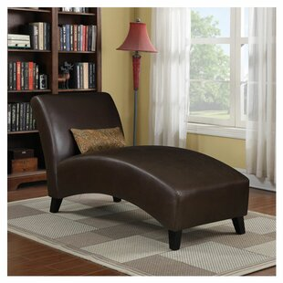 Faux Leather Chaise Lounge Wayfair
