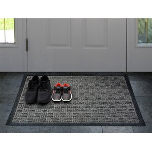 Carpeted Rubber Outdoor Doormat