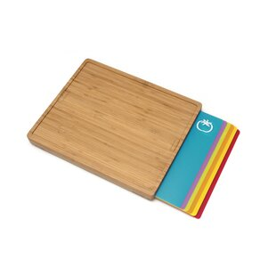 7 Piece Bamboo Cutting Board Set By Lipper International