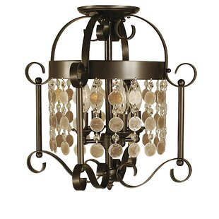 Framburg Naomi 4-Light Semi Flush Mount