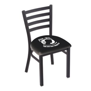 POW/MIA Wrinkle Stationary Side Chair by Holland Bar Stool