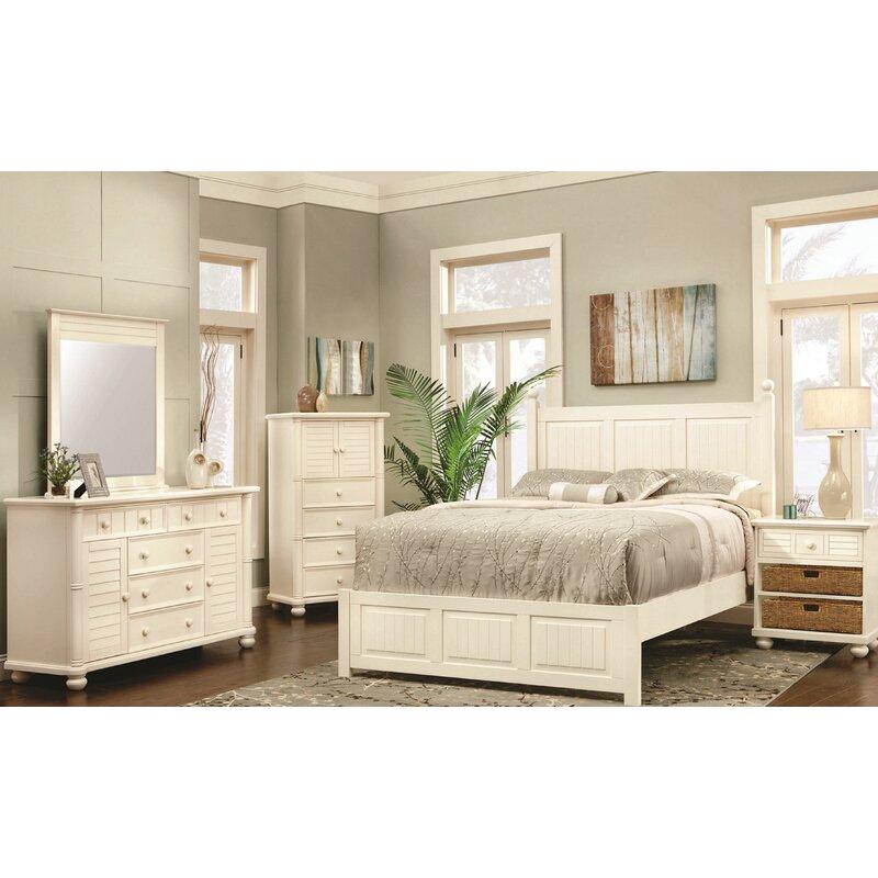 Rosecliff Heights Coutee Queen Standard 5 Piece Bedroom Set | Wayfair