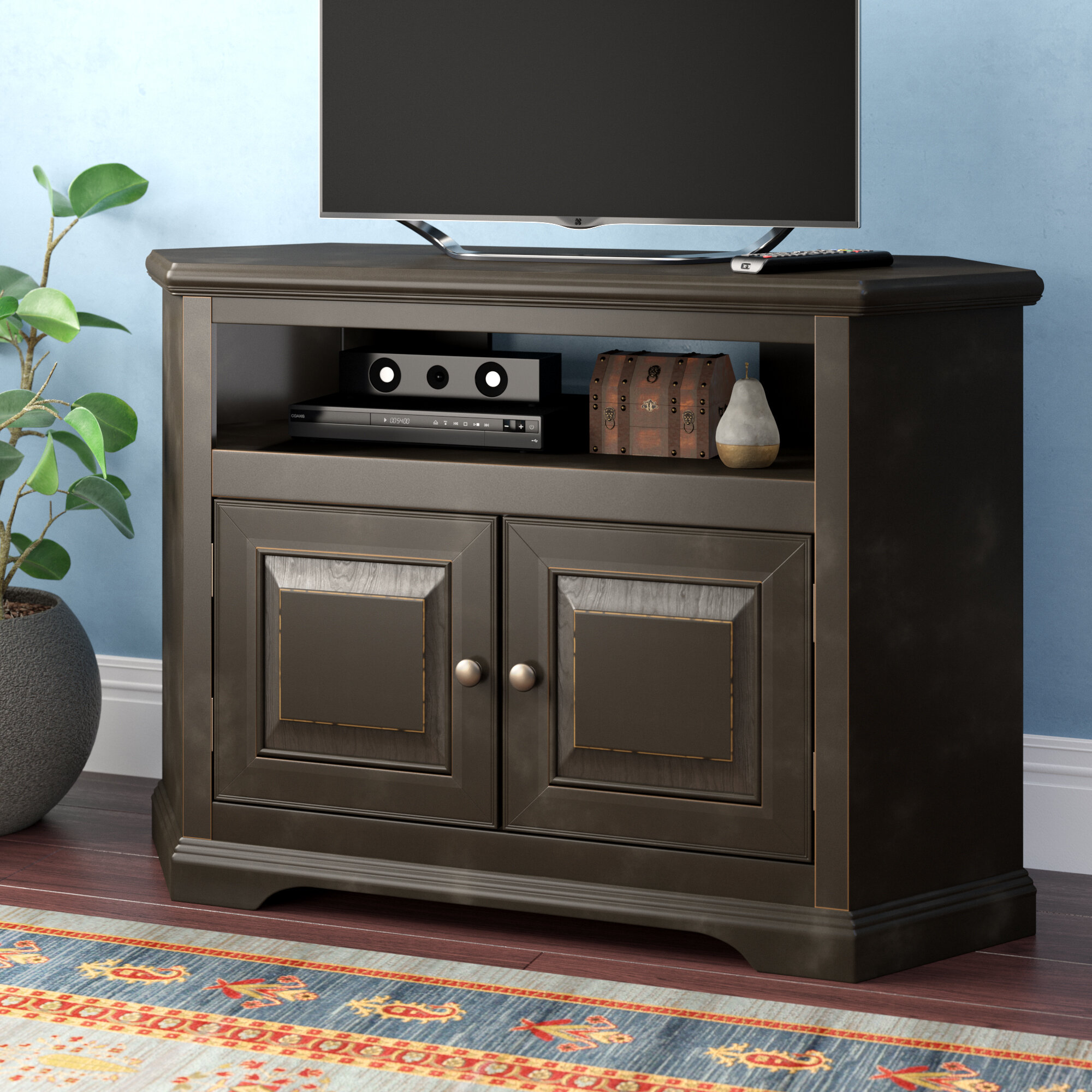 40 49 Inch Corner Tv Stands Entertainment Centers You Ll Love In 2021 Wayfair
