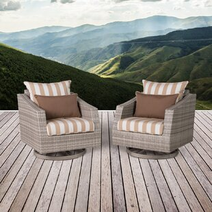 Wade Logan Greenfield Patio Chair with Cu..