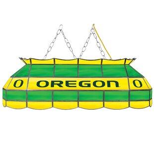Trademark Global University of Oregon 3-Light Billiard Light