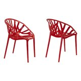 Casas Branch Dining Chair (Set of 2) by Wrought Studio