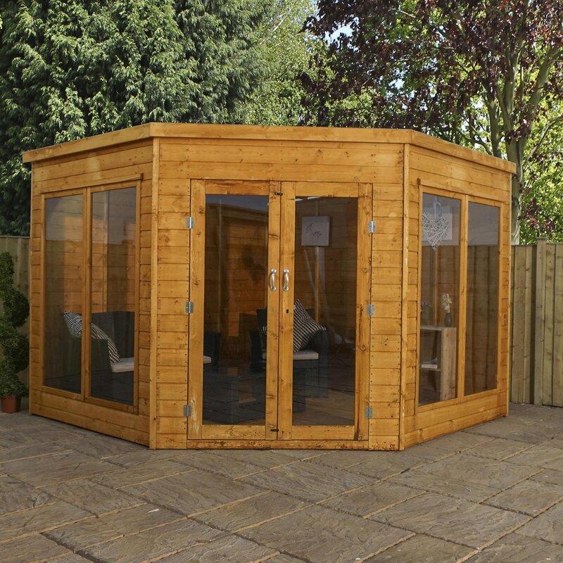 Premium Corner Summerhouse