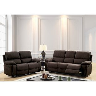Jarmon Reclining Contemporary Configurable Living Room Set by Alcott Hill
