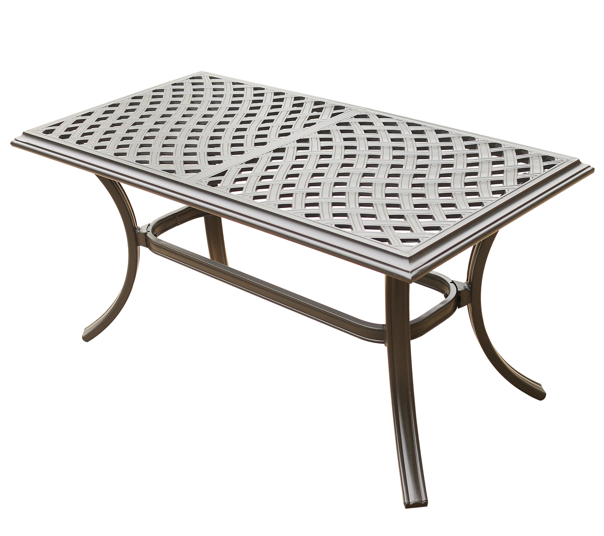 Dalessio Standard Aluminum Coffee Table