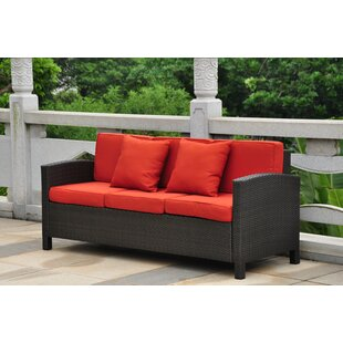 Katzer Patio Sofa with Cushions