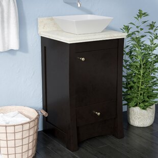 Alburgh 20 Rectangle Single Bathroom Vanity Set by Latitude Run