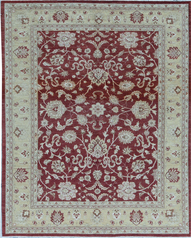 Bokara Rug Co Inc Ziegler Oriental Hand Knotted Wool Red Gold Area Rug Wayfair