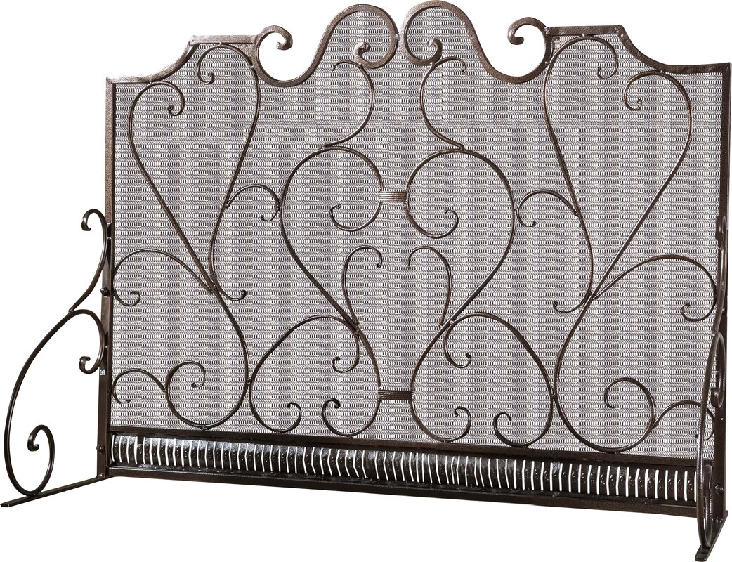 itm mesh white antique fire fireplace for replacement decorative screens saver screen bronze